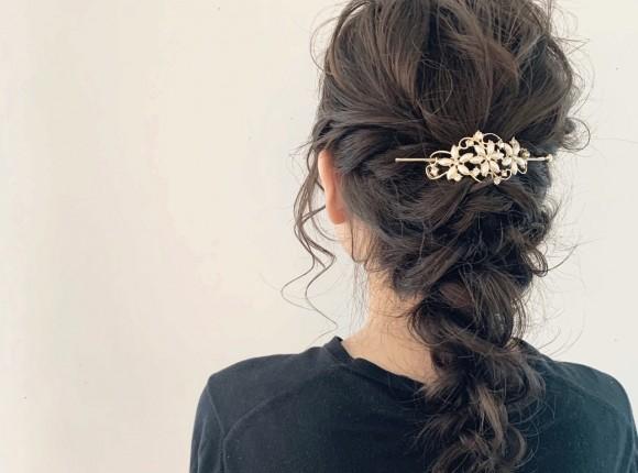 結婚式にしたいハーフアップ!上品な髪型はお呼ばれもOK♡