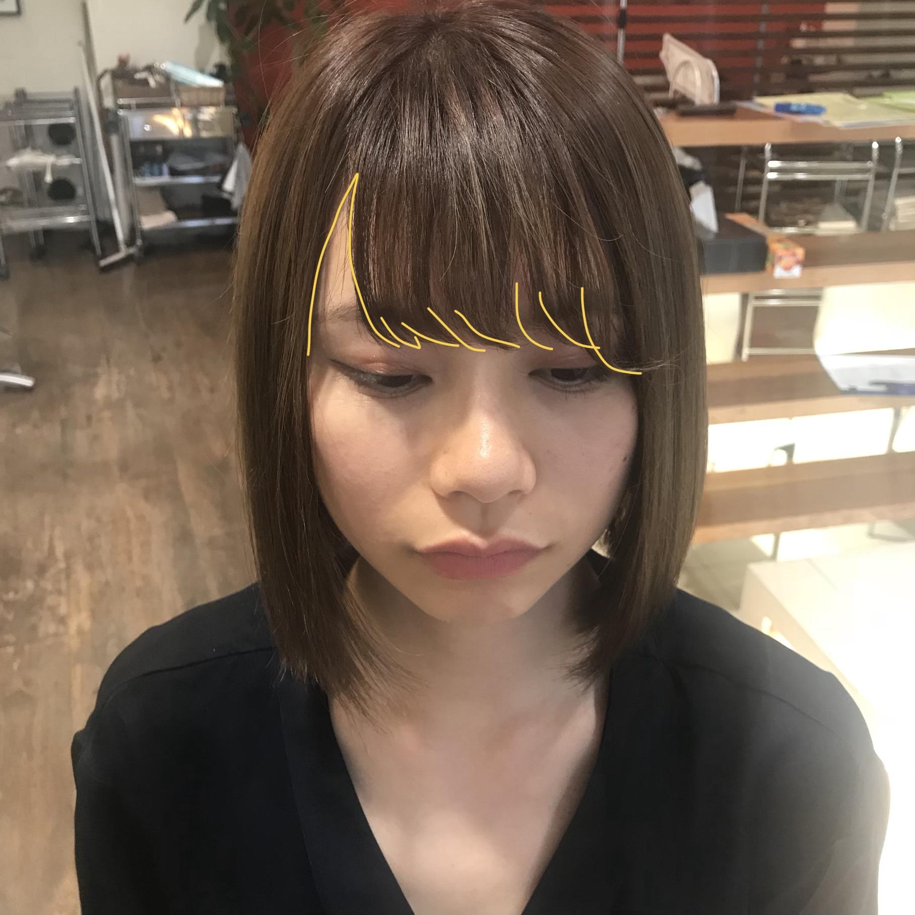 適切な前髪の幅