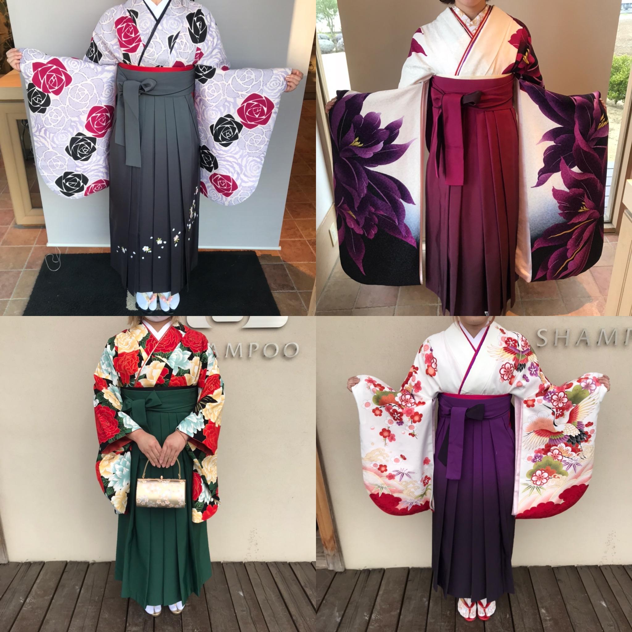 袴の着付け🌸