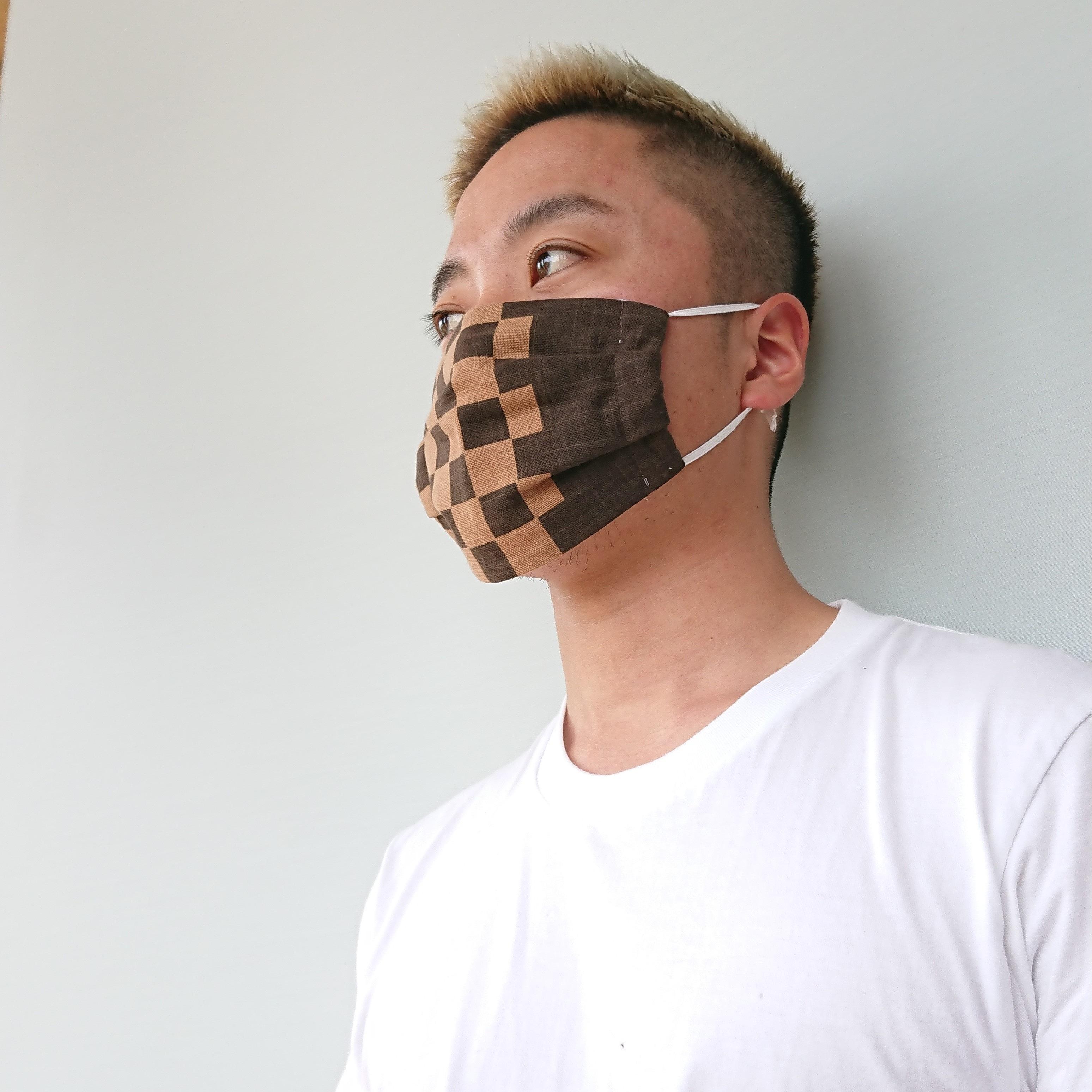手作りマスク♪